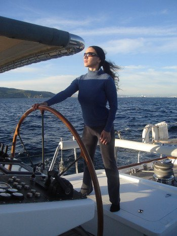 super yacht stewardess