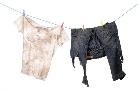 How to launder bodily fluids