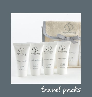 Holistic Hospitality 3 Organic amenities and spa products
