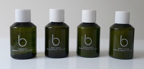 Superyacht toiletries